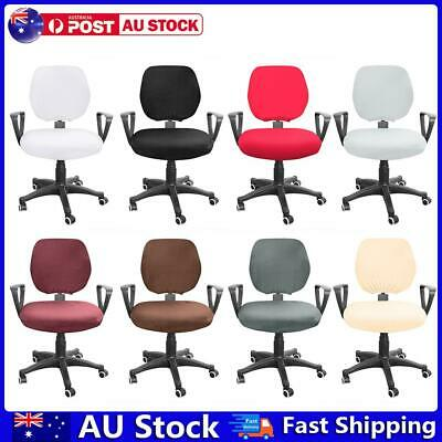 AU11.45 • Buy Spandex Stretch Computer Chair Cover Elastic Home Office Chairs Seat Case AU
