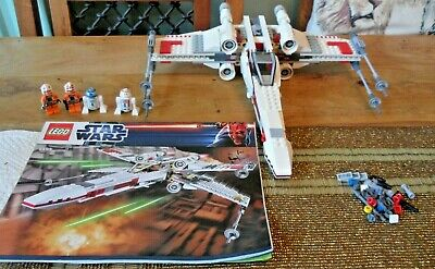 £69.99 • Buy Lego 9493  X-wing Starfighter 100 % Complete & Instructions (NO BOX)