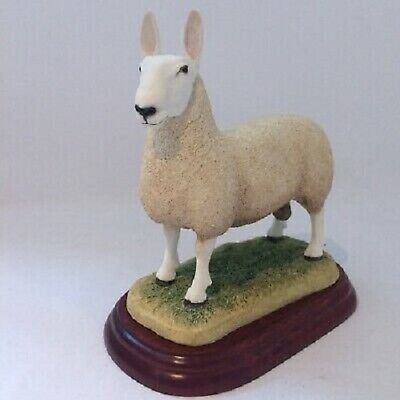 £69.99 • Buy Border Fine Arts Sheep Breed Border Leicester Ram A3225 New And Boxed