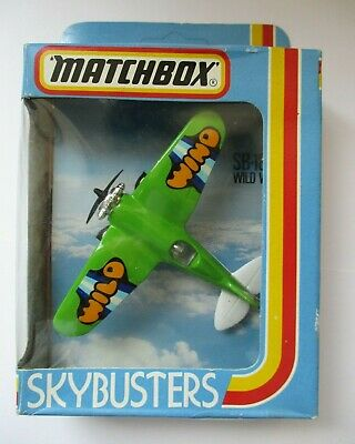 £16.99 • Buy Vintage Matchbox Skybusters SB-18 Wild Wind Stunt Plane Mint In Box