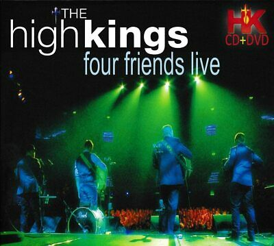 £9.99 • Buy The High Kings - Four Friends Live Cd & Dvd Set