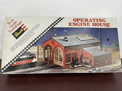 $ CDN58.50 • Buy Ho Scale Buildings Revell Trains Operating Engine House No. H-955 1959 NOB