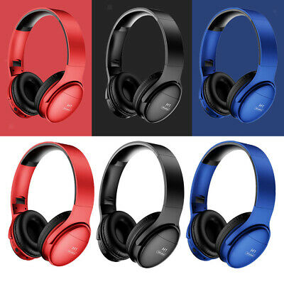 $ CDN18.42 • Buy Over Ear Hi-Fi Bluetooth Wireless Wired Headphones Noise Cancelling Headset