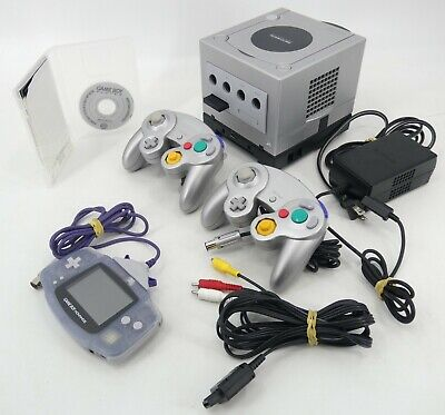 £164.71 • Buy Nintendo GameCube, Game Boy Player, GBA & Controllers - Tested