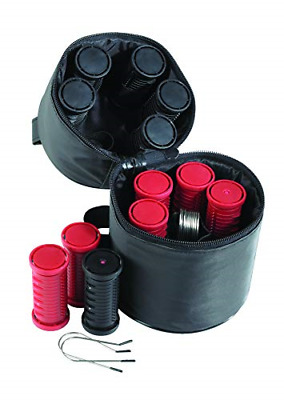 £34.20 • Buy Nicky Clarke Heated 3.5 Cm Rollers Compact Travel Set Of 12, Ionic Self Grip Pin