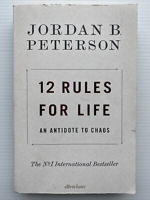 AU14 • Buy 12 Rules For Life: An Antidote To Chaos By Jordan B. Peterson (Paperback, 2018)