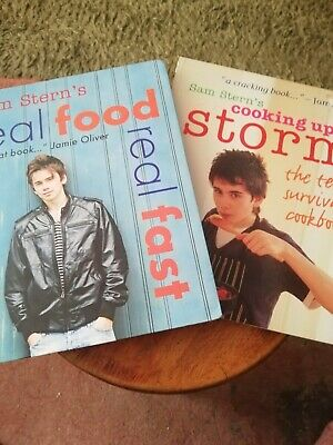 £0.25 • Buy 2 X Cooking Books By Sam Stern's ( Real Food ), Cooking Up A Storm)