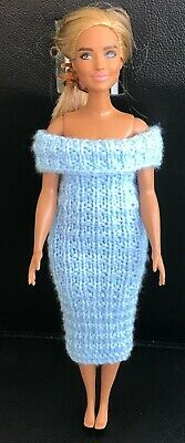 £1.50 • Buy  Knitted Dress,  - To Fit Curvy Barbie Size Doll (#528) P&p Combined