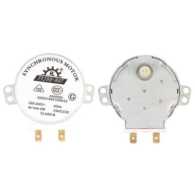 £3.47 • Buy Turntable Microwave Oven Synchronous Motor AC 220-240V For Air Blower TYJ5^j HB