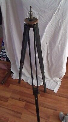 £15 • Buy Vintage Tripod Wooden 1950`s Camera / Engineering Project Up Cycle