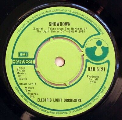 £11.99 • Buy Electric Light Orchestra - Showdown / Roll Over Beethoven (7 , Single)