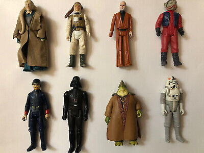 $ CDN5.50 • Buy Star Wars Vintage Lot Of 8 Figures From 1977 To 1985!!
