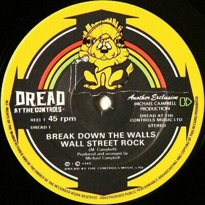 £22.49 • Buy Mikey Dread - Break Down The Walls / The Jumping Master (12 )