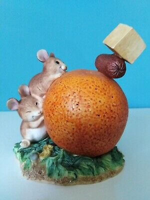 £45 • Buy Border Fine Arts Merrie Mice Fruit Fun 'Cocktail Party' - 2001