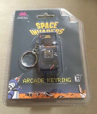 £2.50 • Buy New Space Invaders Key Ring Retro Space Invaders Arcade Machine Novelty Key Ring