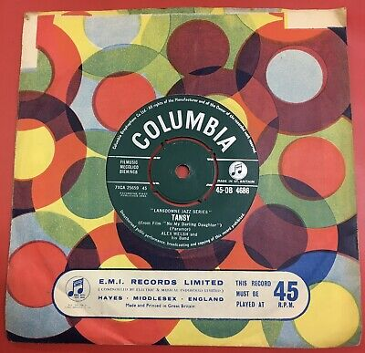 £5 • Buy Alex Welsh: Tansy .1961 Columbia.near Mint Upgrader+cover.uk #45 Hit.
