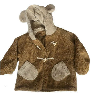 £15.35 • Buy Adult Size Teddy Bear Sweater Hood With Ears Toggle Button Pockets Quilted Lined