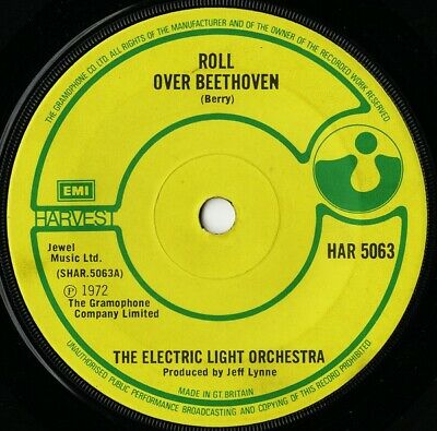 £7.99 • Buy Electric Light Orchestra - Roll Over Beethoven (7 , Single, Sol)