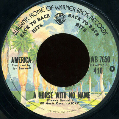 £7.99 • Buy America  - A Horse With No Name / I Need You (7 , Single, RE)