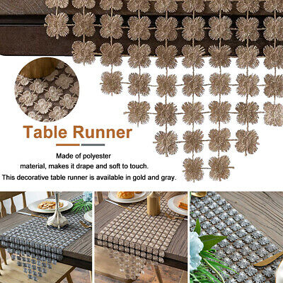 AU10.14 • Buy Vintage Table Runner Elegant Dining Room Table Cloth Home Party Decoration