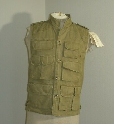 $19.99 • Buy Trail Designs REI Fishing Hunting Shooting Photography Vest Mens Small NEW NWT