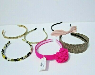$ CDN56.33 • Buy Hair Accessories Hairband Lot Of 6 Pieces