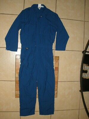 $17.99 • Buy Mens Large 42-44 STANCO FR NOMEX IIIA Summer Work Blue Coveralls