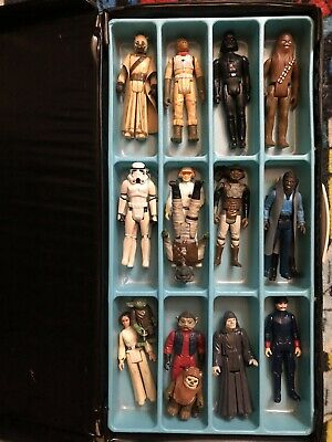 $ CDN57 • Buy Star Wars Vintage Lot Of 17 Figures Plus Case From 1977 To 1985!!