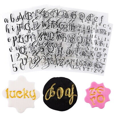 £3.49 • Buy Alphabet Letters Family Rubber Silicone Clear Stamp For Card Making Scrapbooking