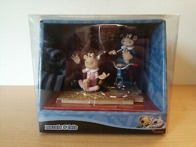 £12.99 • Buy Creature Comforts Muzulu And Toto Monkeys Figures Collectable Rare Toys