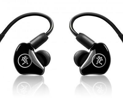 $108.29 • Buy Mackie MP-220 Dual Dynamic Driver Professional In-Ear Monitors+Molded Carry Case