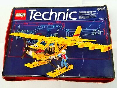 £9.99 • Buy Lego Technic Set 8855 Prop Plane Complete With Instructions & Box