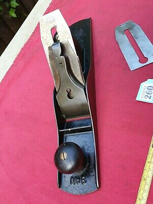 £115 • Buy Antique Stanley No 6 Smoothing Plane Pat 1876 In Good Condition For Age (140yrs)