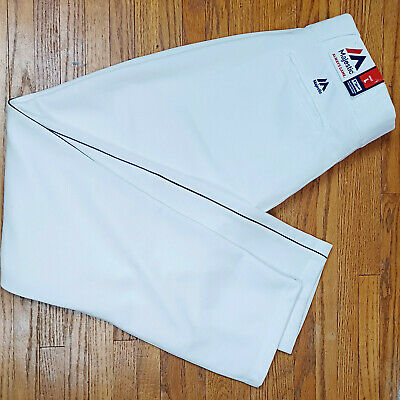 $36.02 • Buy Majestic MLB Baseball Pants Men's Size Large (New With Tags) White + Pin Stripe
