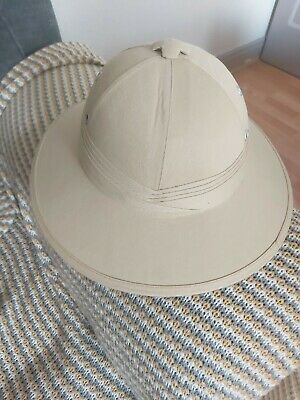 £11 • Buy British Army Tropical Pith Helmet - Repro Explorer Rorke's Drift Colonial Hat