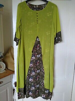 AU1.85 • Buy Ladies Fab Lagenlook Style Dress Size L (14-16) From Zanzea Collection
