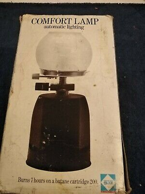 £8.99 • Buy Vintage Camping Comfort Gas Light. Unsure How Much Gas Left