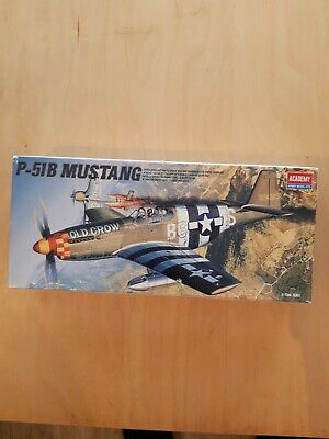 £5 • Buy Academy P51B Mustang Model Kit X2, Plus Extra Decals.