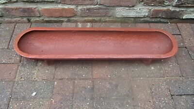 £40 • Buy Cast Iron Cattle / Pig Trough Garden Planter Patio Lawn Seed Bed Water Feed