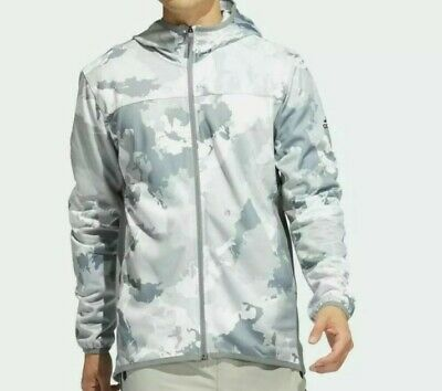 £41.81 • Buy Adidas Men's Pullover Hoodie Track Top Size: XL #GC8267 Camouflage Gray & White