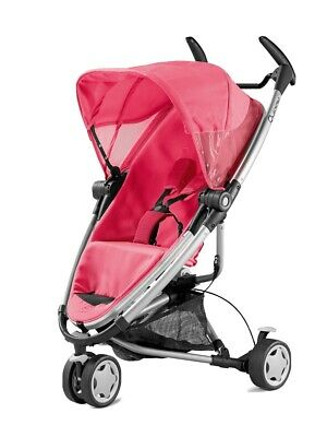 £20.50 • Buy Brand New Quinny Zapp Xtra 2 Seat Cover And Canopy Fabric Set In Pink Precious