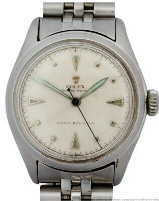 $ CDN830.84 • Buy Scarce Rolex Oyster Royal Mid Size 6144 Perpetual Orig Dial Mens Watch W Tags