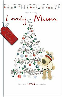 £5.95 • Buy Boofle For A Very Lovely Mum Embellished Christmas Greeting Card Cute Xmas Cards