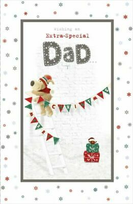 £3.95 • Buy Boofle Wishing An Extra Special Dad Christmas Greeting Card Cute Xmas Cards