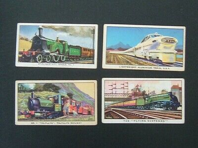 £0.99 • Buy Kellogg - Story Of The Locomotive ( 1963) - 1st & 2nd Series - 4 Cards