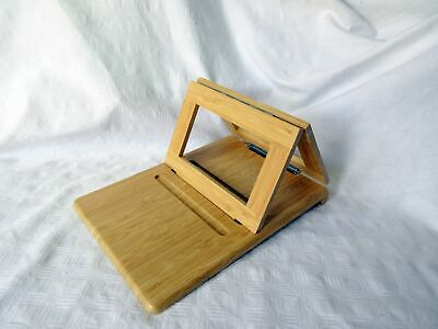 £0.99 • Buy Wooden Recipe Wooden Book Stand
