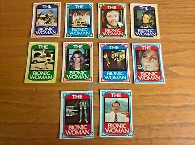 £4.99 • Buy Monty Gum Trade Cards: The Bionic Woman X10