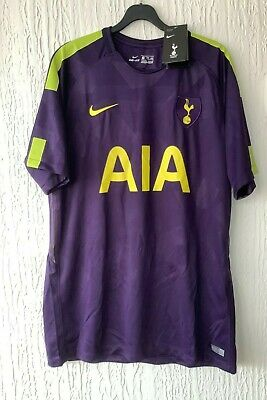 £38.50 • Buy Tottenham Hotspur Nike 2017/ 2018 3rd Shirt Size Xxl -new With Tags.