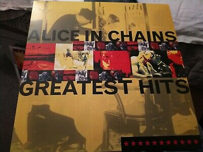 AU14.01 • Buy ALICE IN CHAINS - Greatest Hits - Vinyl LP Excellent.