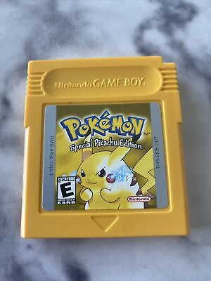 $69.50 • Buy Pokemon Yellow Pikachu Edition (Game Boy, 1999) Authentic 100% Works Excellent